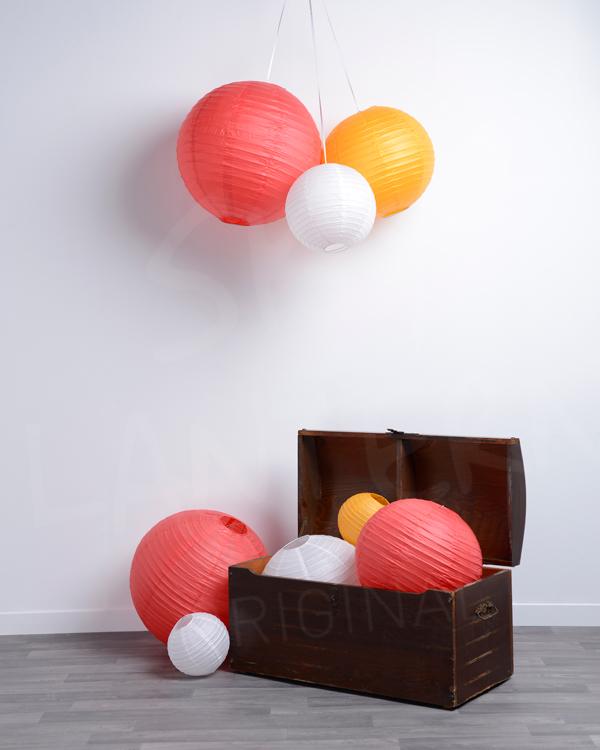 lanterne boule papier. Black Bedroom Furniture Sets. Home Design Ideas